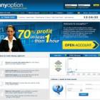Confirmación de pago del broker de Opciones binarias Anyoption.